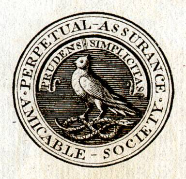 First life insurance company, Perpetual Assurance Amicable Society