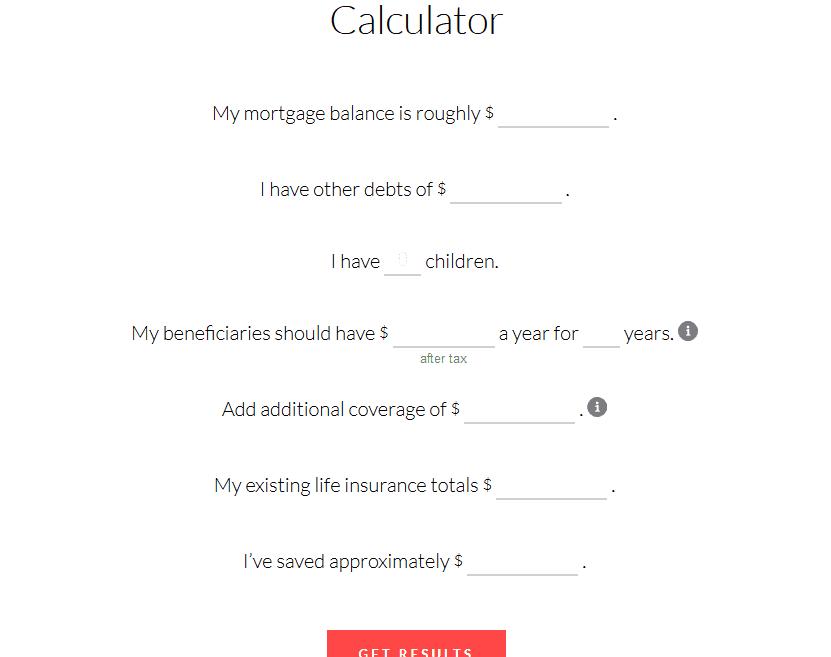 ladder life insurance calculator