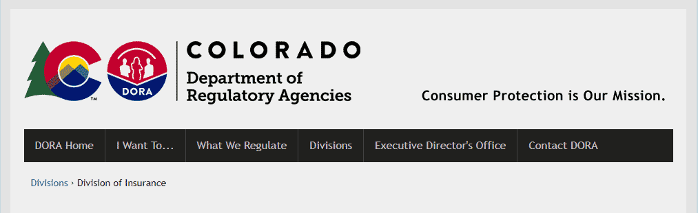 colorado department of insurance