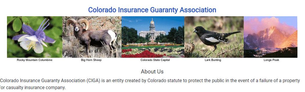 colorado guaranty association