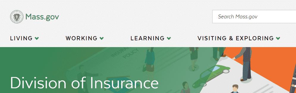 massachusetts department of insurance