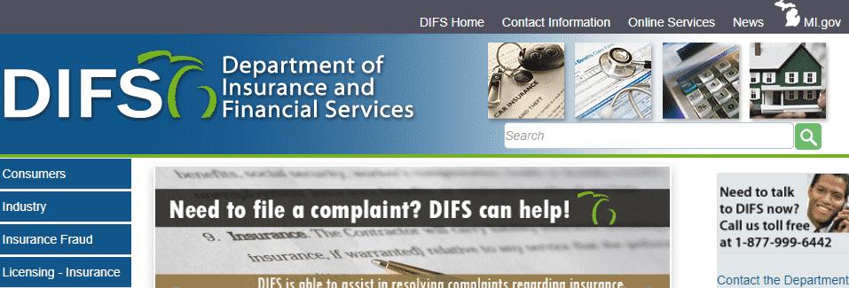 michigan department of insurance