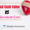 Actual Cash Value Vs Replacement Cost Explained In 2019