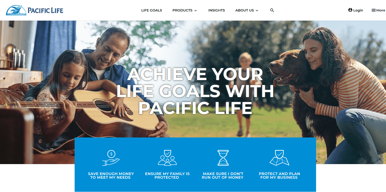 pacific life homepage