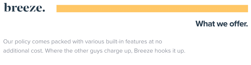 meetbreeze built in features