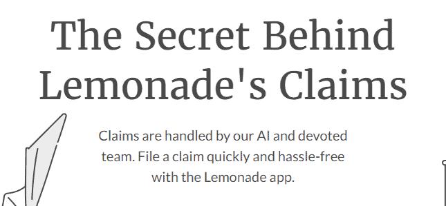 lemonade claims