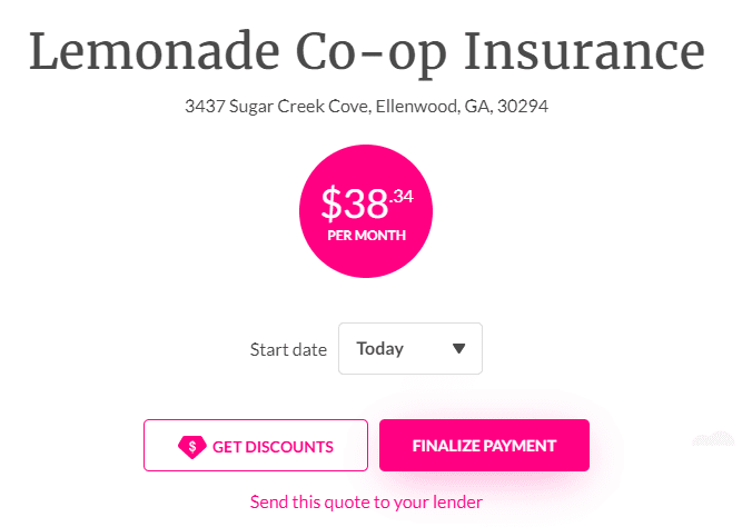 lemonade co op insurance