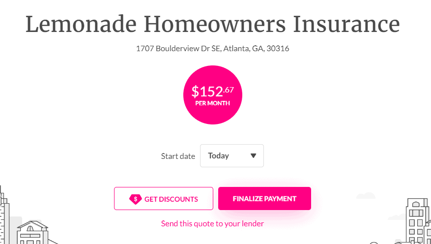 lemonade homeowners insurance