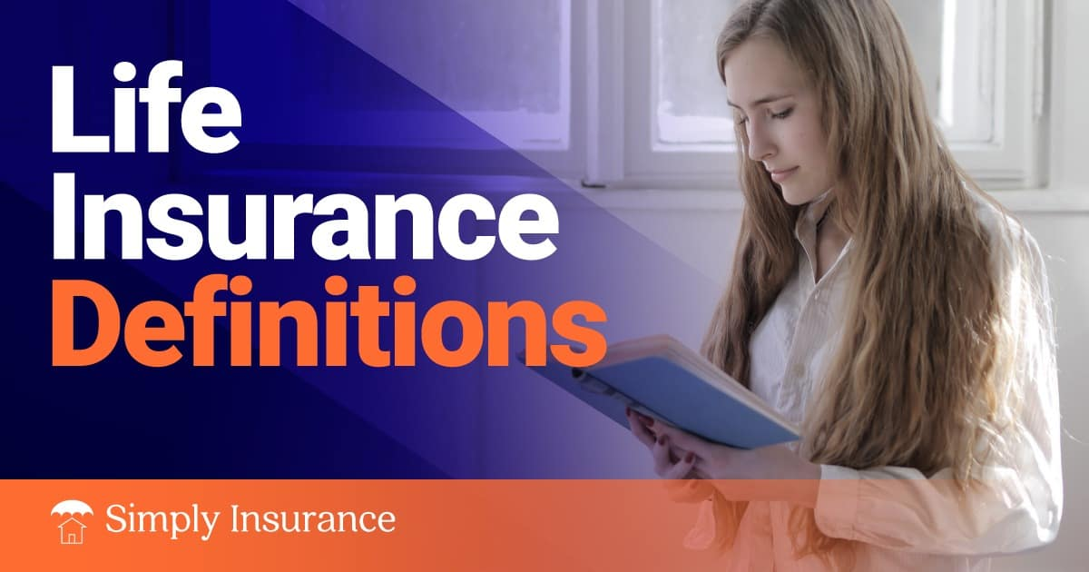 life insurance definitions
