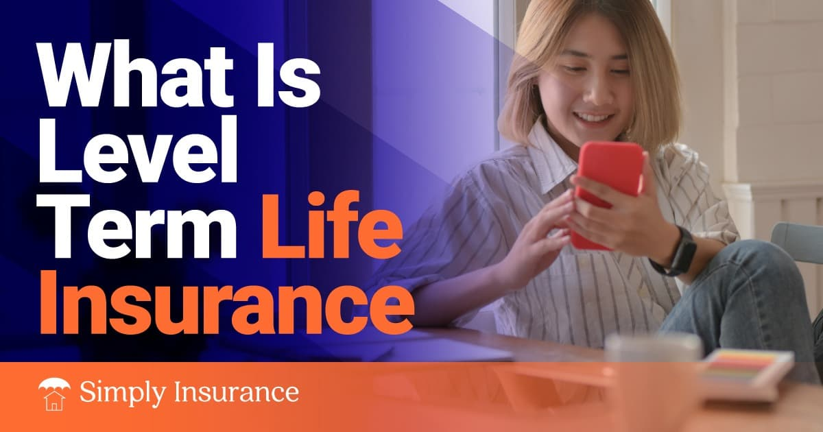 what is level term life insurance