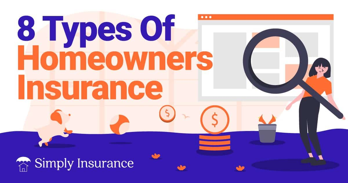 different types of home insurance