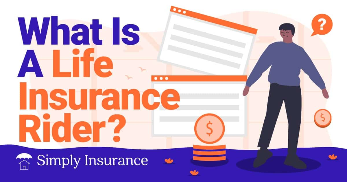 what is a life insurance rider