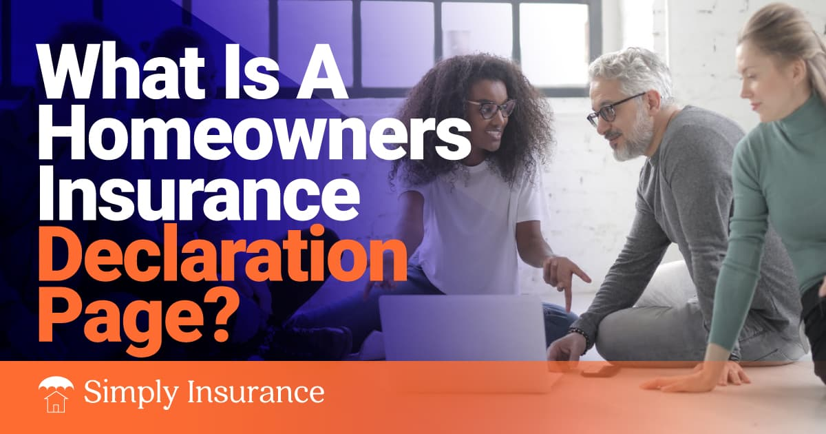 homeowners insurance declaration page