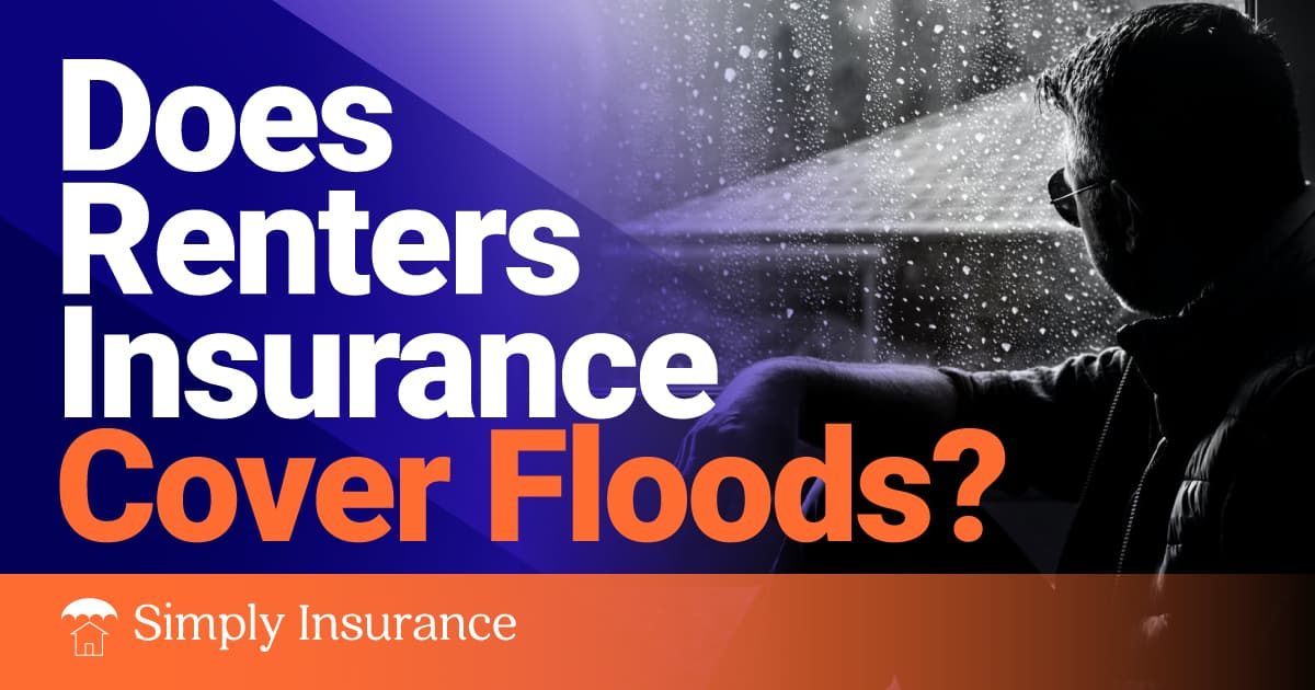 does renters insurance cover floods