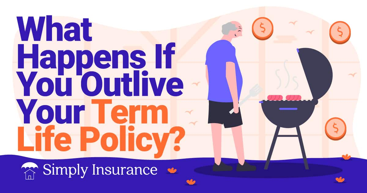 what happens if you outlive your term life policy
